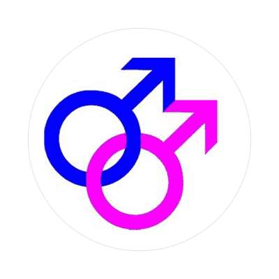 gay symbols sticker