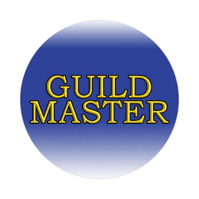 guild master dnd dungeons and dragons rpg sticker