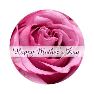 happy mothers day blossom sticker