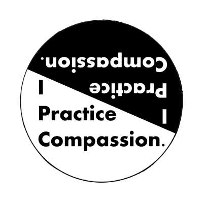 i practice compassion magnet