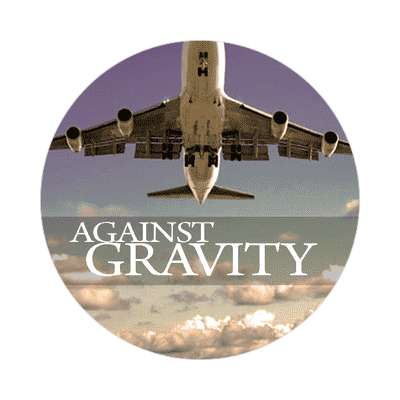 jet against gravity sticker