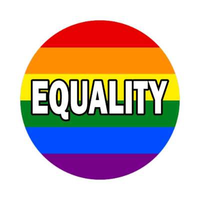lgbt equality sticker