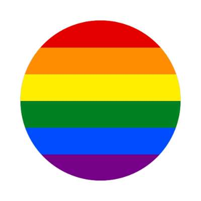 lgbt flag rainbow sticker