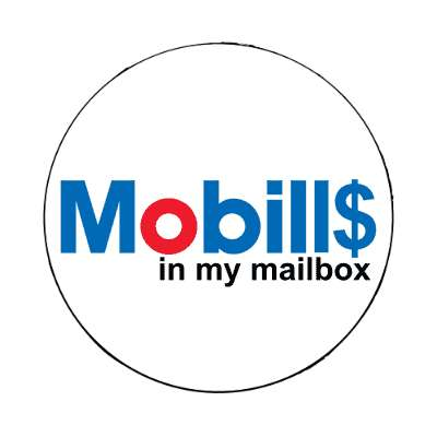 mobills in my mailbox mobil parody magnet