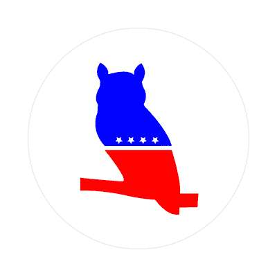 modern whig party sticker