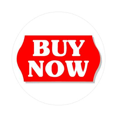 pricetag buy now sticker