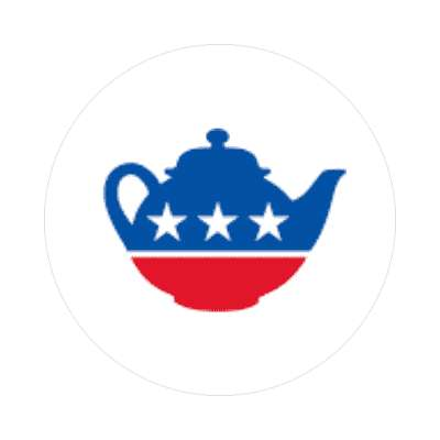 tea party sticker